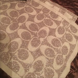 Two way Coach scarves each $29 both $49